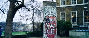 Fragment of the Berlin Wall - Imperial War Museum / London