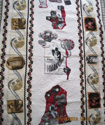 Lauries movie quilt