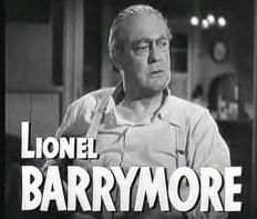 """Lionel Barrymore in the 1948 trailer for the film """"Key Largo"""""""