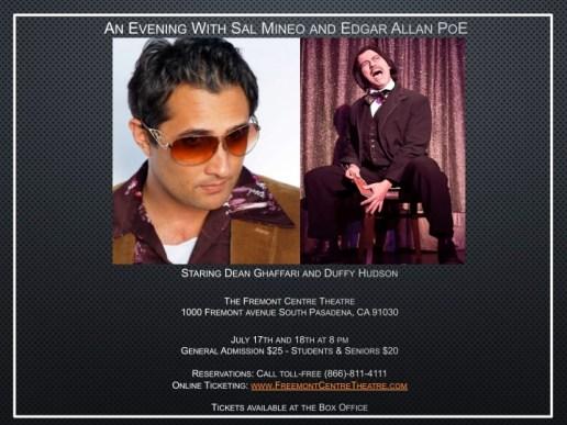 An Evening With Sal Mineo and Edgar Allan Poe JPEG