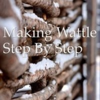How to Make Wattle Fencing Step by Step