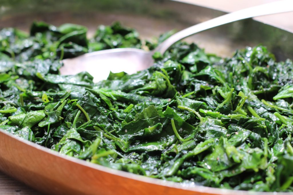 Yummy, I love sautéed greens….