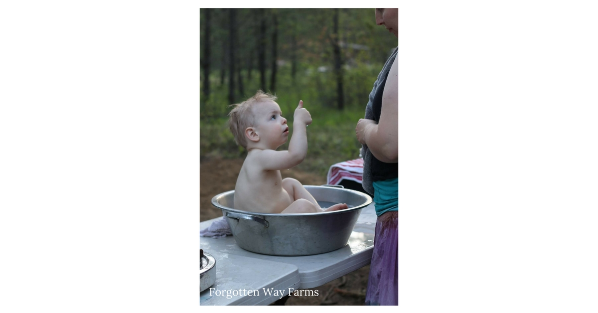 Homesteading Life With a Family, what a little cutie pie!