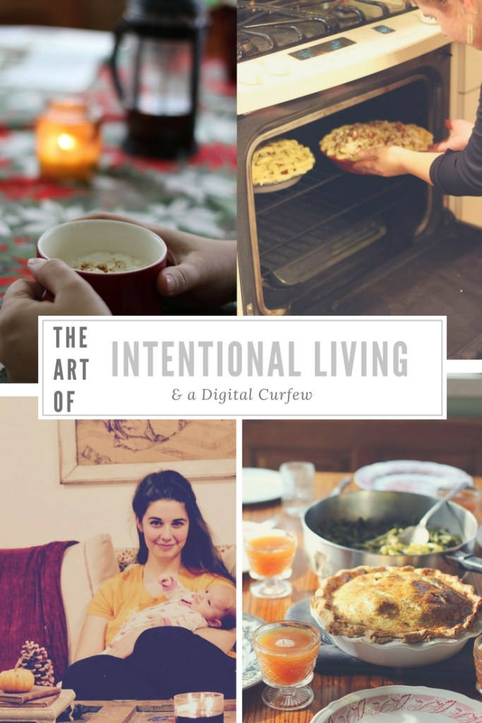 The Art of Intentional Living and a Digital Curfew at Forgotten Way Farms! LOVE this blog and their unique outlook on life.
