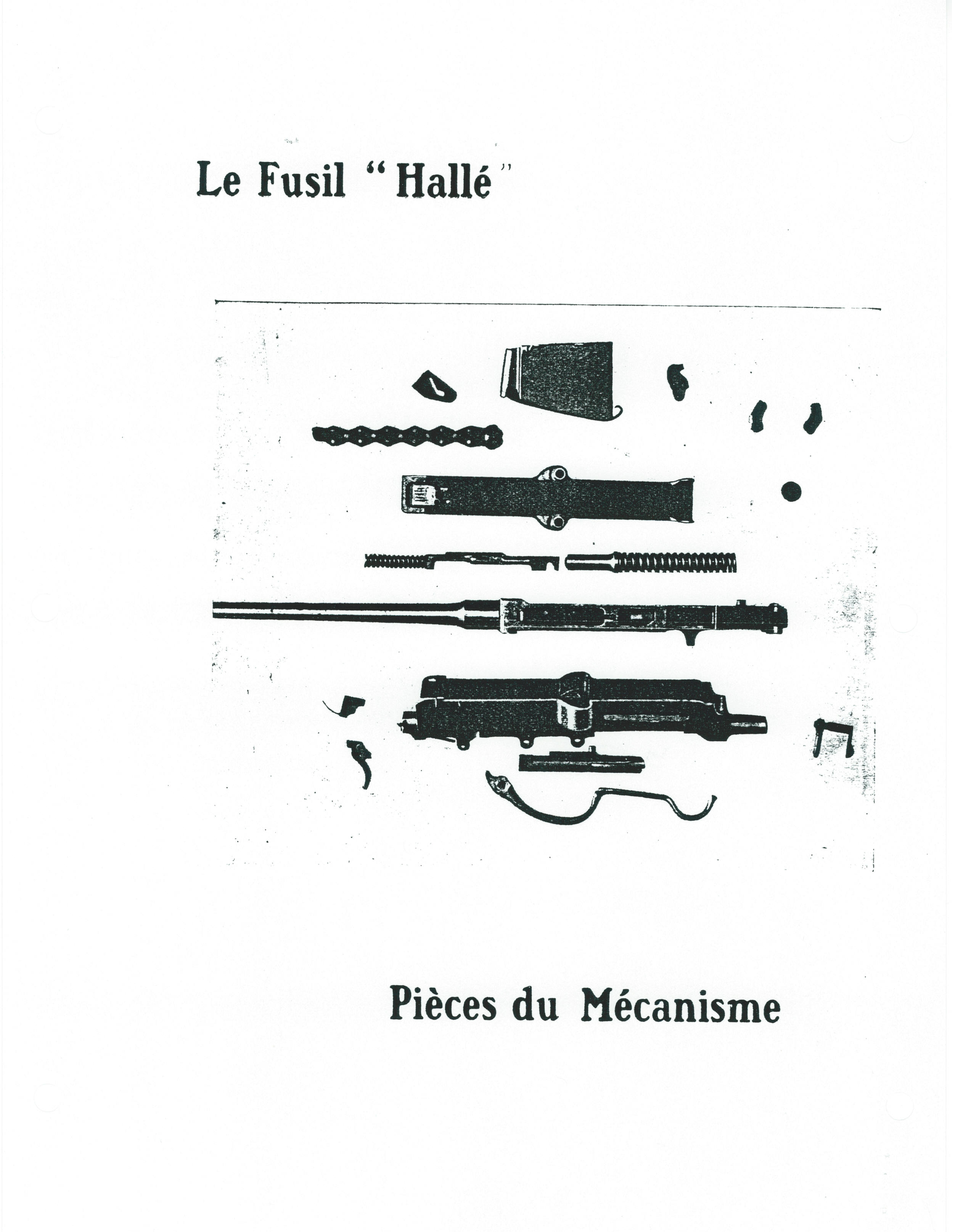 French Fusil Halle