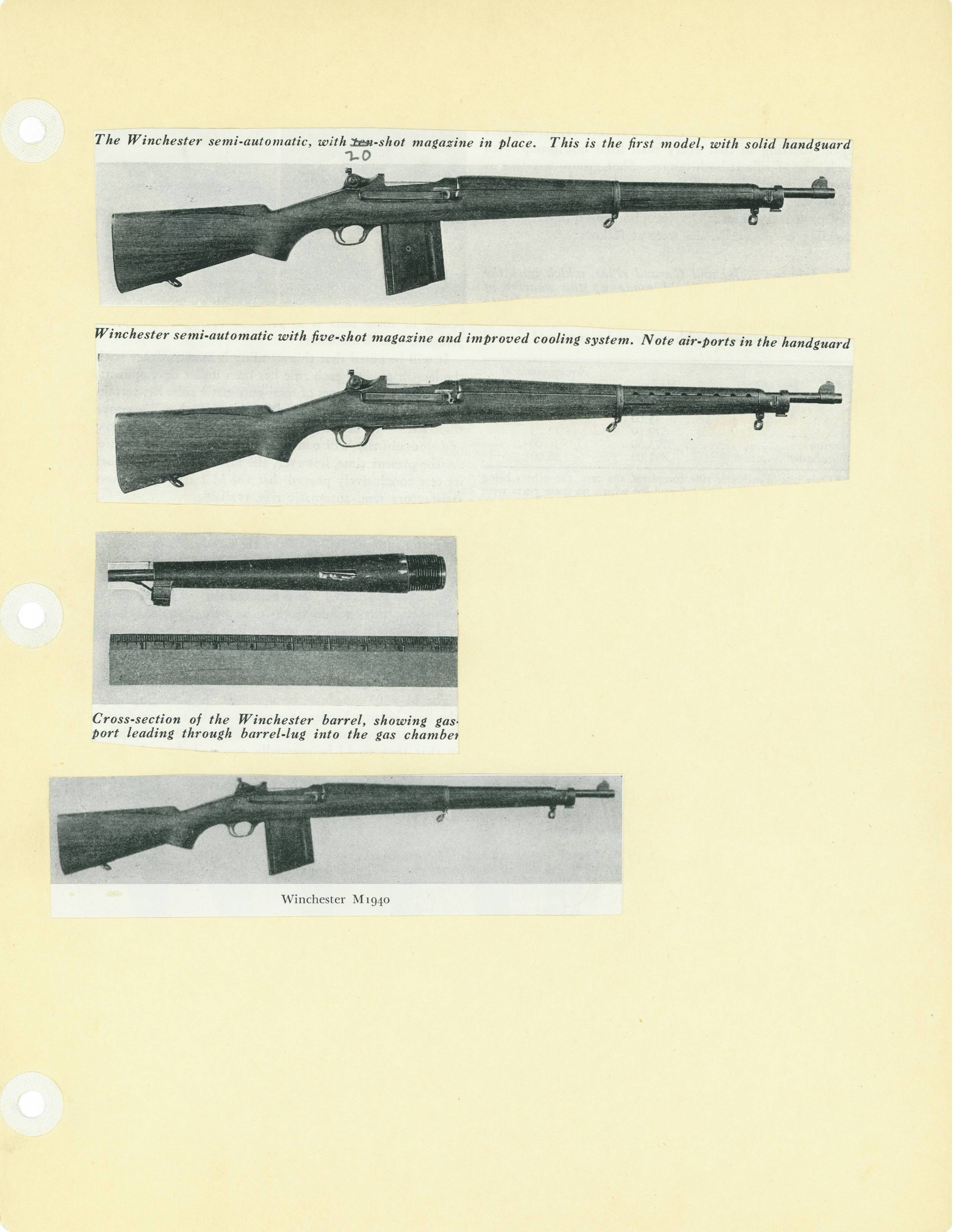 US Winchester  30 semiauto – Forgotten Weapons