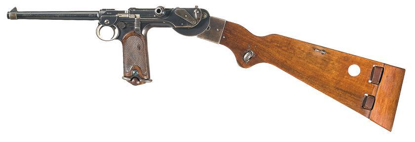 Borchardt automatic pistol