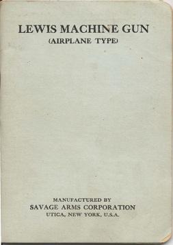 Lewis Machine Gun (Airplane Type)