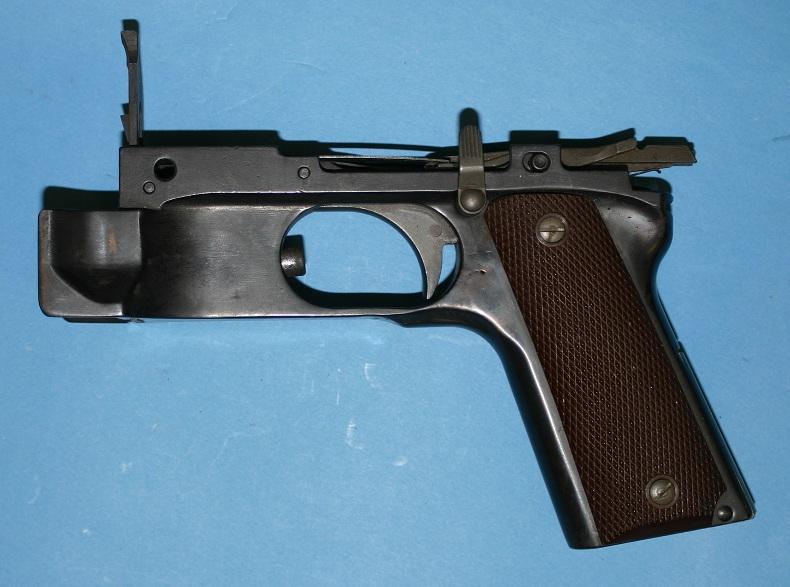 BAR 1911 grip frame