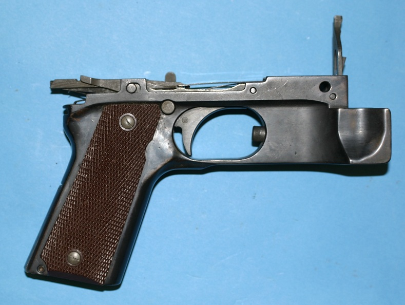 BAR 1911 grip frame