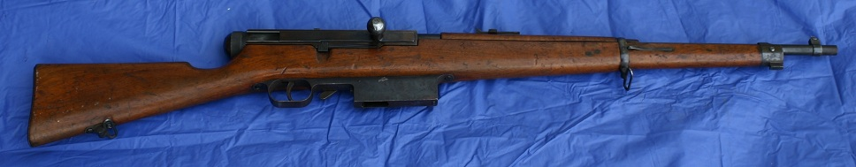 MTB 1925 Italian prototype rifle