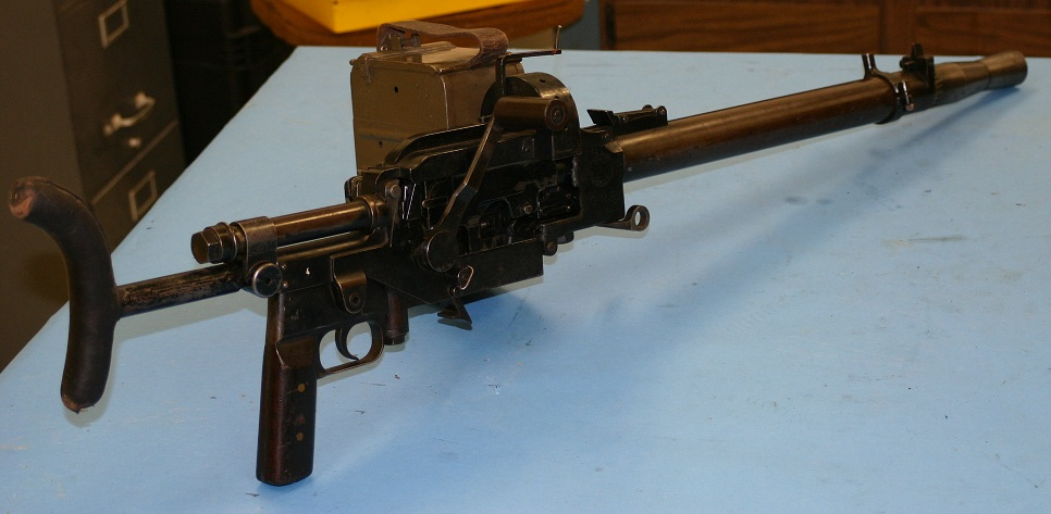 Madsen belt-fed tank gun