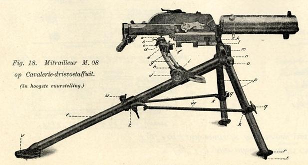 Schwarzlose M1908 Cavalry gun