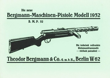 Bergmann MP32 Manual (in German)