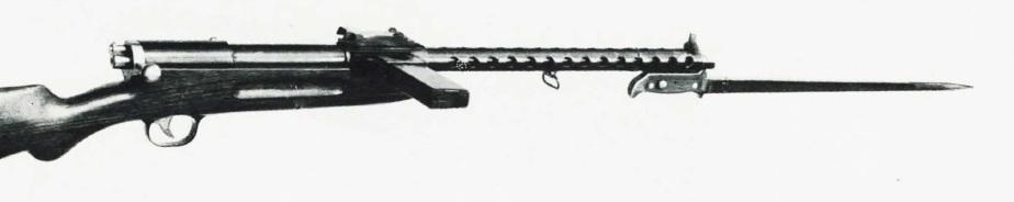 Bergmann MP32 (long 320mm barrel with bayonet)