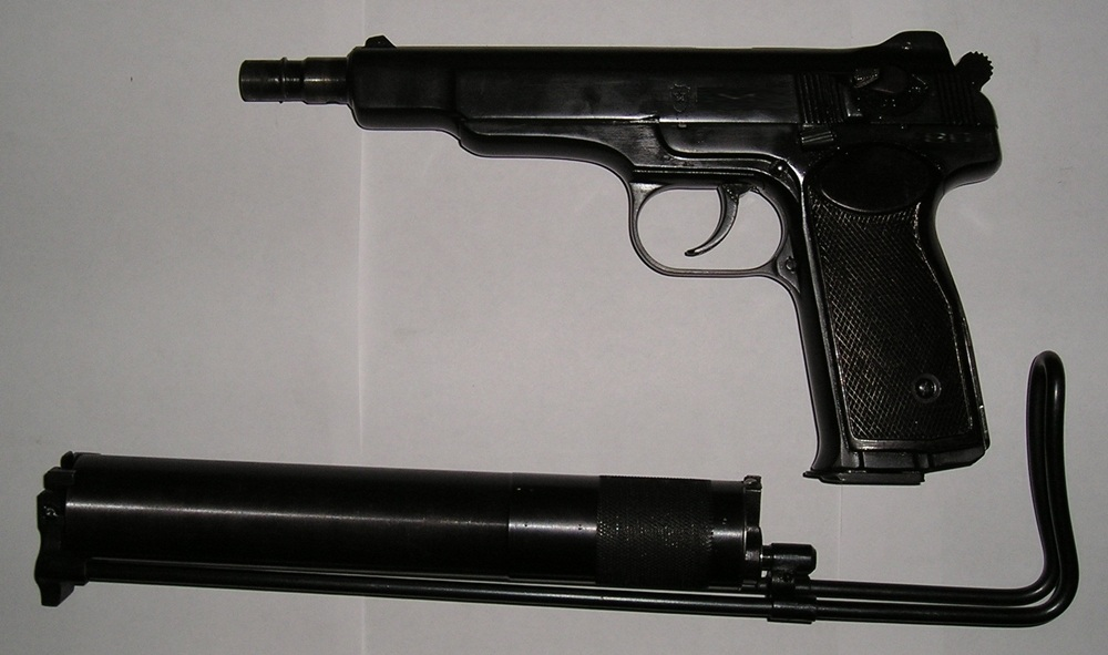 Stechkin APS with suppressor and stock