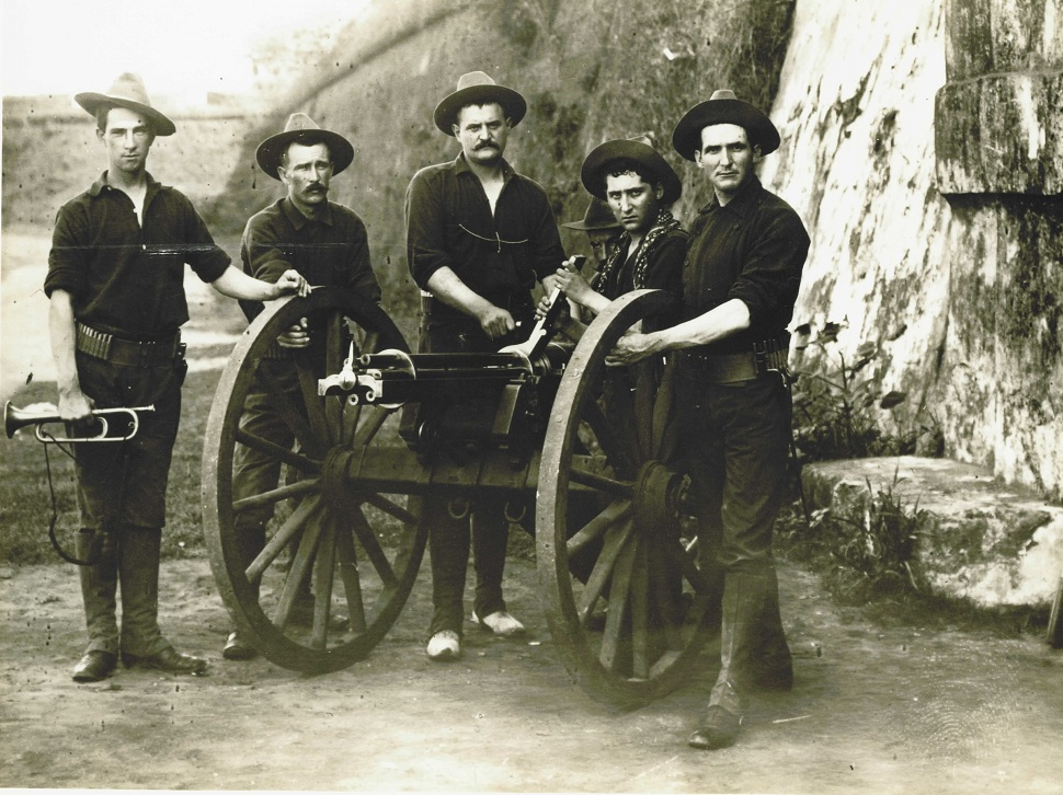 Gattling Gun Crew