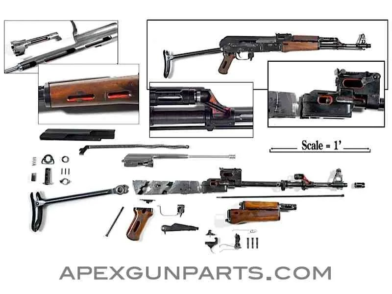 Cutaway AK kits available at Apex – Forgotten Weapons