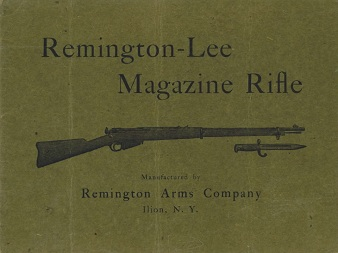 1899 Remington-Lee Magazine Rifle manual (English)