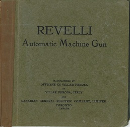 Revelli Automatic Machine Gun (Villar Perosa) manual (English)