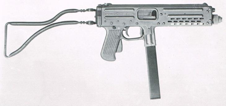 Franchi LF57 submachine gun