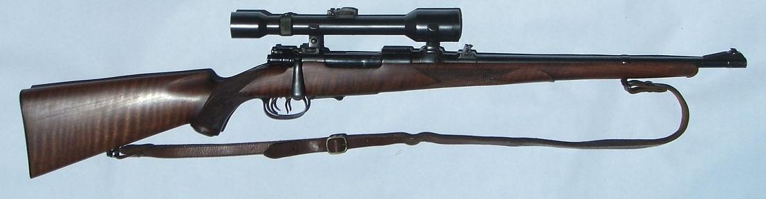 Sporterized Mauser, circa 1950