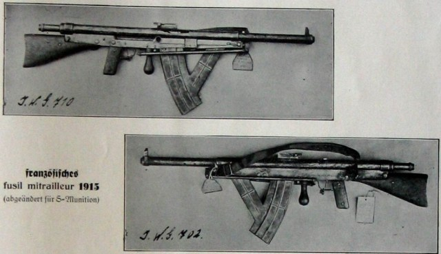 German Chauchat in 8x57mm