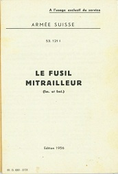 Le Fusil Mitrailleur LMG25 (French, 1956)