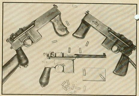 Brazilian PASAM machine pistols