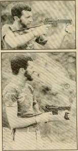 Ronaldo Olive firing a second variant Brazilian PASAM machine pistol