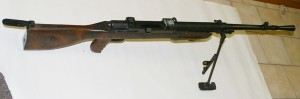 Mexican Mendoza light machine gun