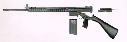 Early FAL disassembled