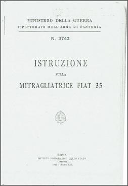 Fiat-Revelli 1935 Manual (Italian, 1941)