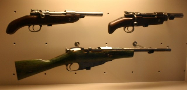 "Cut down ""Obrez"" rifles - Mosin and Mauser"