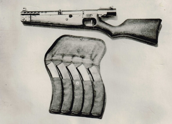 Japanese Model II Type A Variant 1 SMG