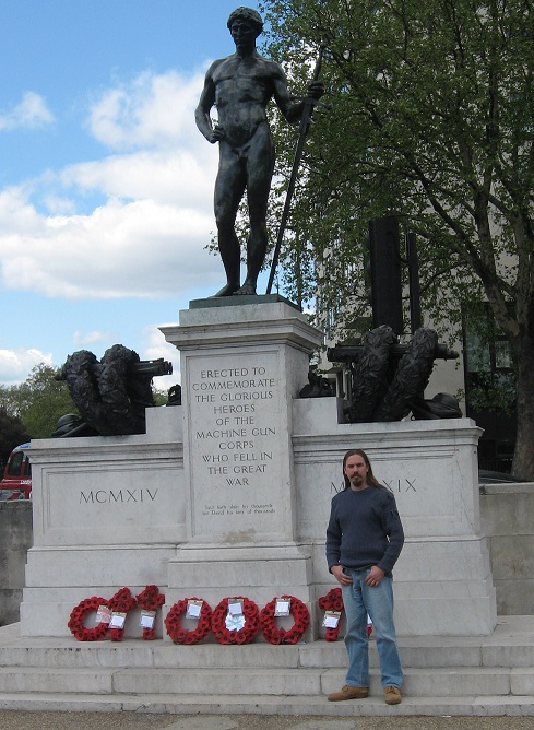 Machine Gun Corps Memorial, London