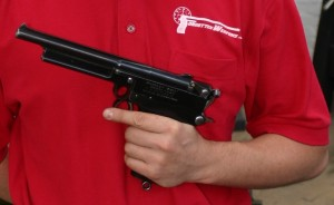 Mars pistol size