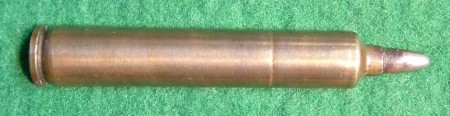 5.2x68mm Rubin Cartridge used in the 1894 Mondragon rifle