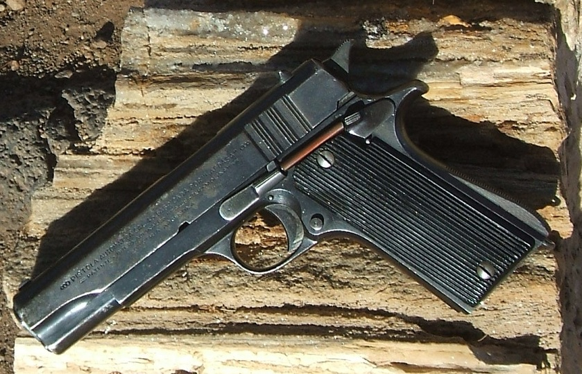 Argentine Ballester-Molina automatic pistol