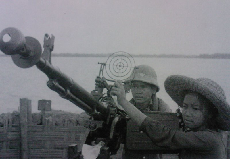 DShK 38 in use in Vietnam