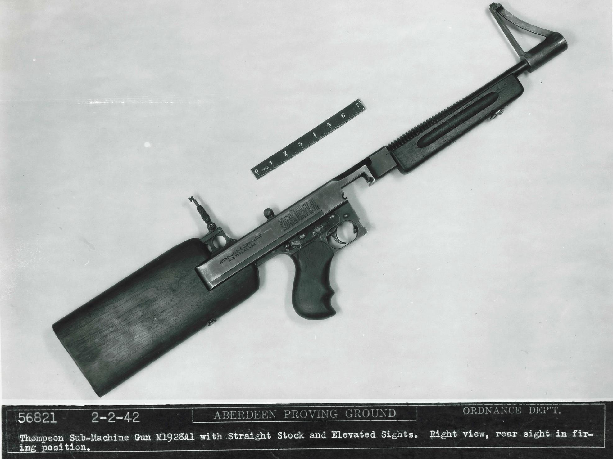 Experimental Thompson Stock – Forgotten Weapons