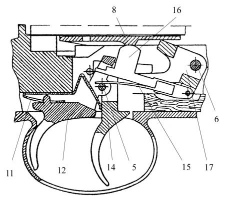 Polish wz.39 Mors trigger mechanism