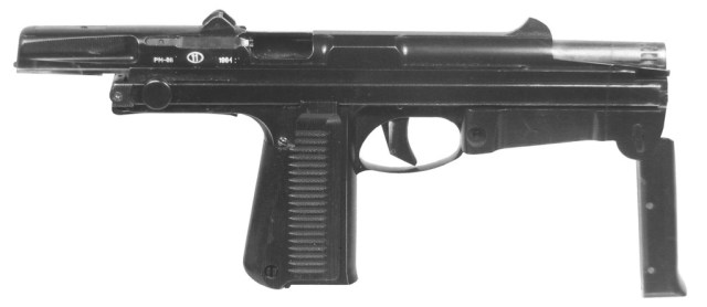 Prototype Rak machine pistol