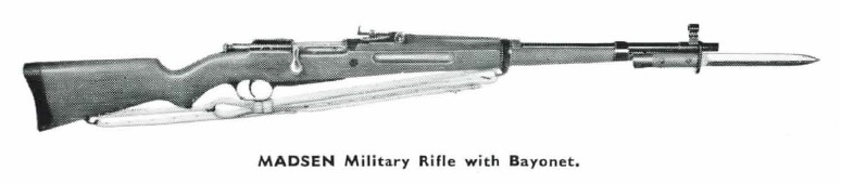 Madsen M47 Lightweight Military Rifle