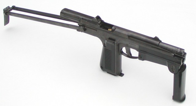 "PM-63 ""Rak"" machine pistol"