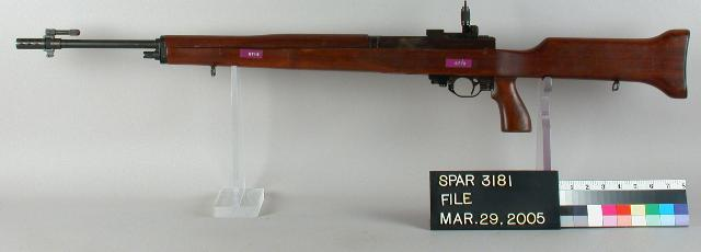 Harvey Earle's T25 automatic rifle