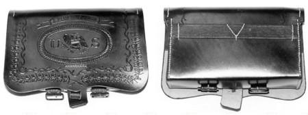 1828 US cartridge box