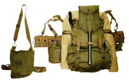 1945 pattern US web gear