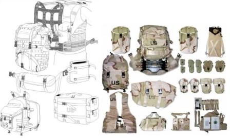 US MOLLE web gear