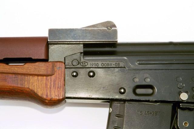 1990 Onyks rear sight